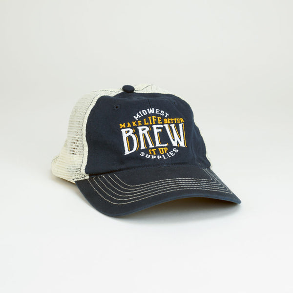 "Midwest Supplies ""Brew It Up"" Trucker Hat"