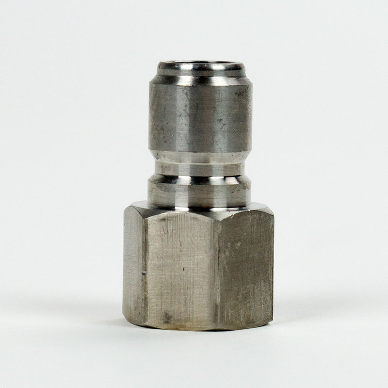 "Male Stainless Quick Disconnect to Female 1/2"" NPT"