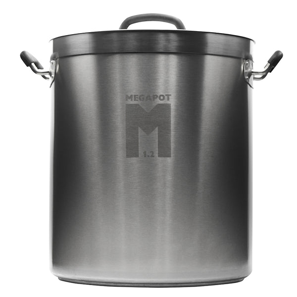 10 Gallon MegaPot 1.2 Undrilled Brew Kettle