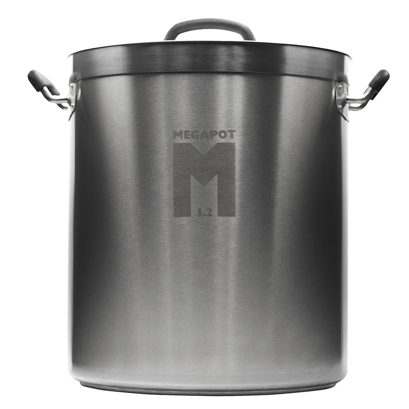 8-Gallon MegaPot 1.2 Undrilled Brew Kettle