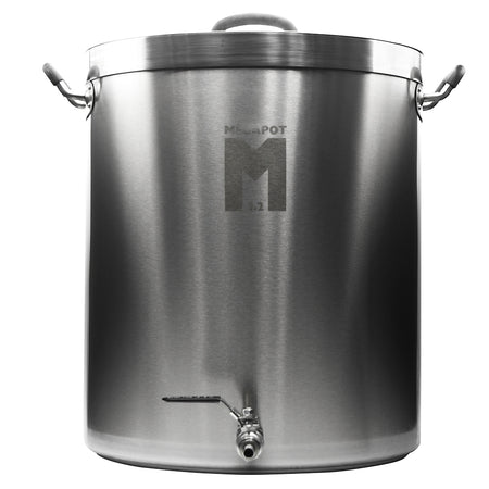 30 Gal MegaPot 1.2™ Stainless Steel Brewing Kettle w/ ball valve