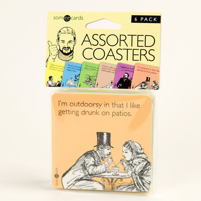 Someecards Assorted Coasters