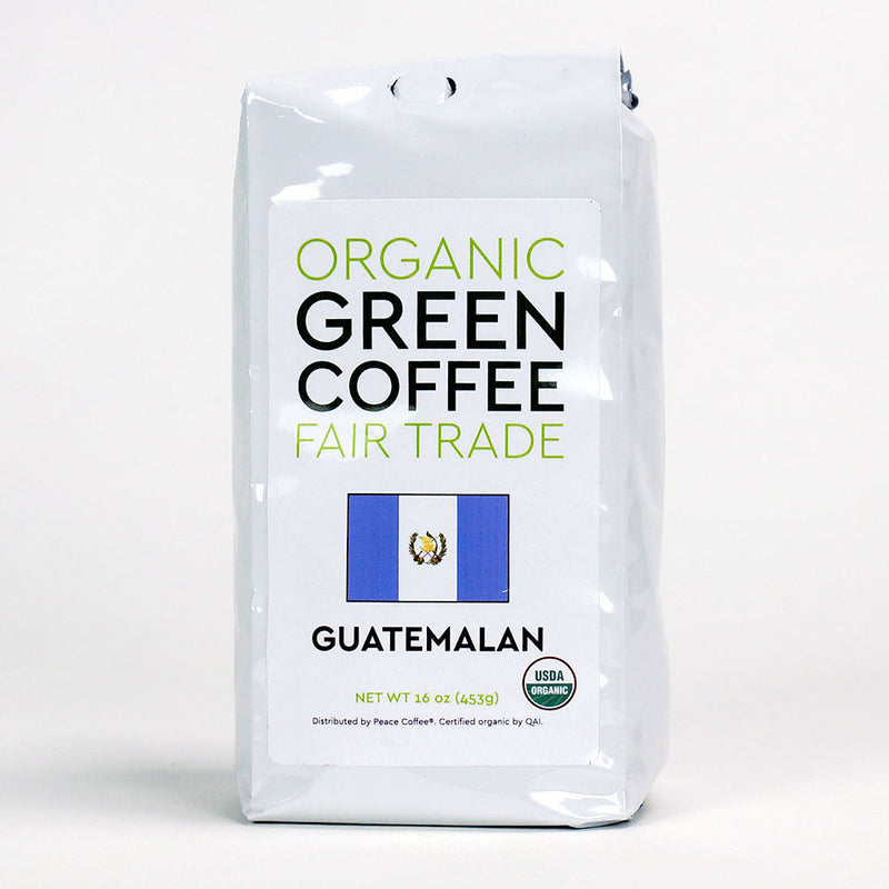 Peace Coffee: Guatemalan Fair Trade Green Coffee Beans