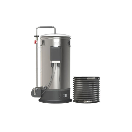 Grainfather Connect - Self Contained Electric All Grain Beer Brewing System back view