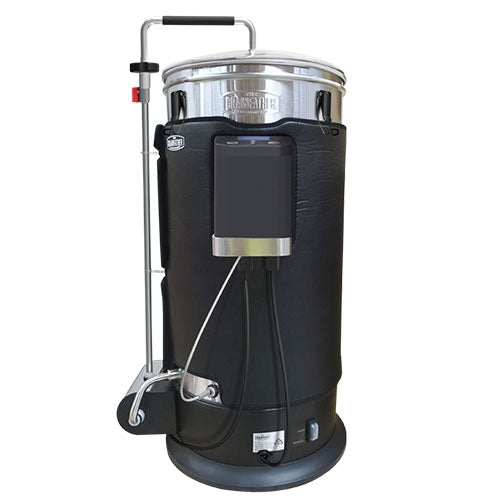 The Grainfather Graincoat wrapped around a grainfather