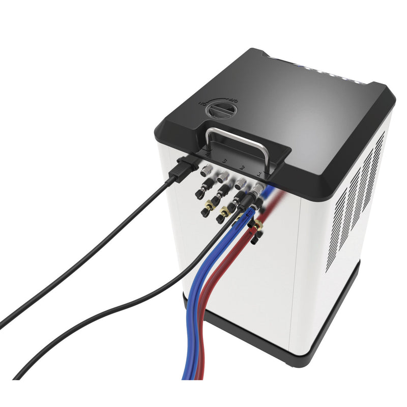Cooler with connections
