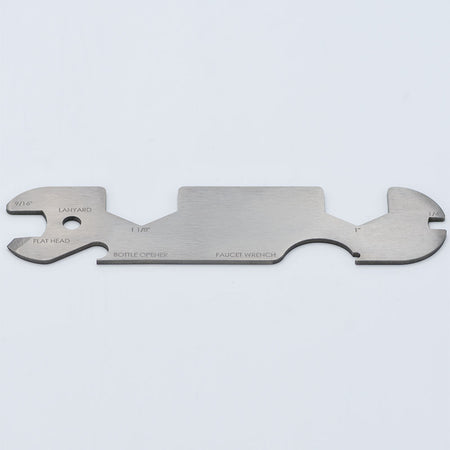 Draft Brewer® Titanium Keg Tool's backside