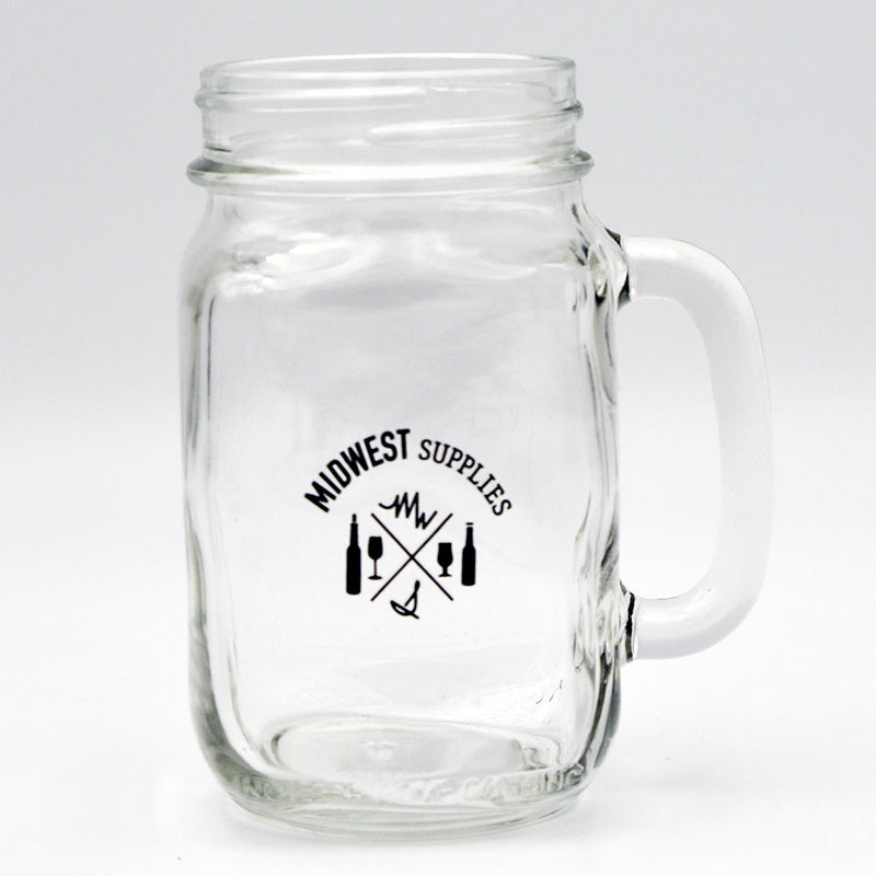 Midwest Supplies 16-ounce Drinking Jar