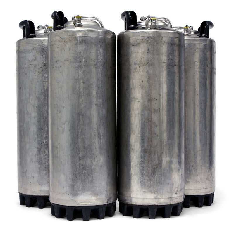 Four Reconditioned 5-Gallon Ball Lock Kegs