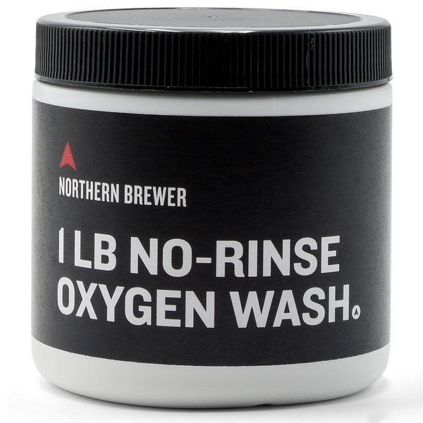 Northern Brewer No-Rinse Oxygen Wash in a 1-pound container