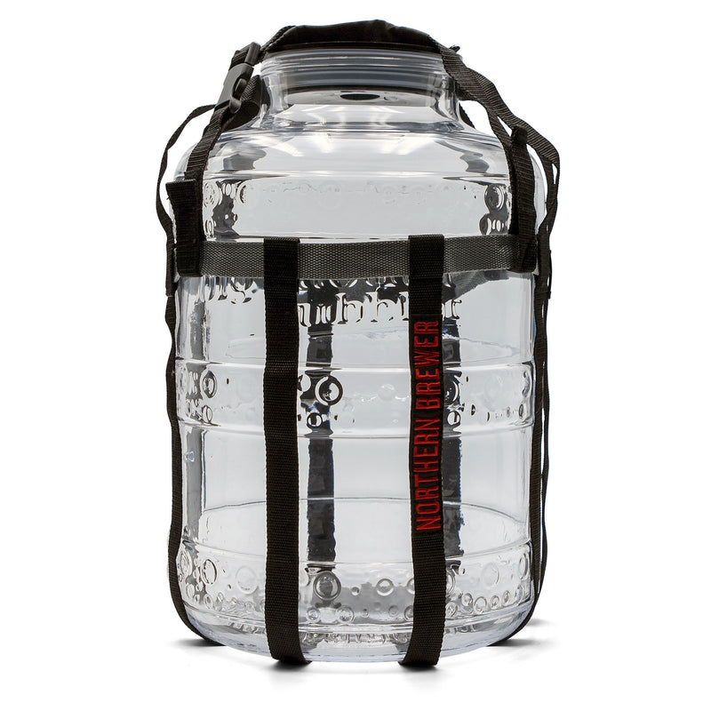 Big Mouth Bubbler 6.5 Gallon Glass Fermenter with Harness