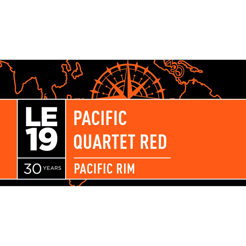 LE19 Pacific Quartet Red Wine Bottle Label