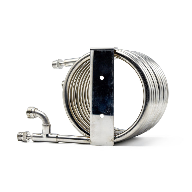Northern Brewer Stainless Counterflow Chiller Angle View