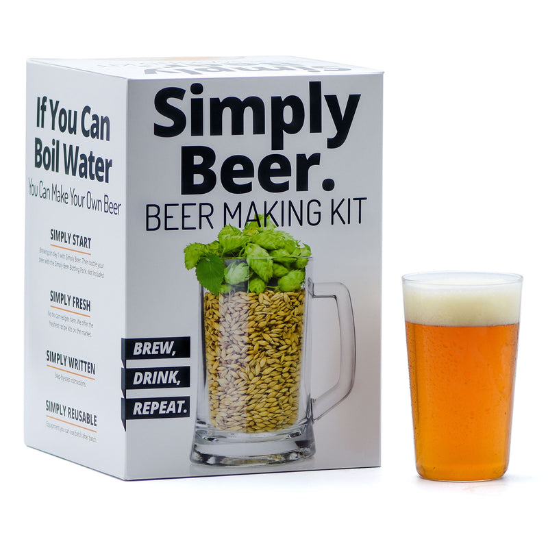 Easy Way to Brew Your Own Beer At Home - Simply Beer Starter Kit