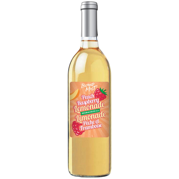 Hard Peach Raspberry Lemonade - Limited Release Wine Kit - Island Mist