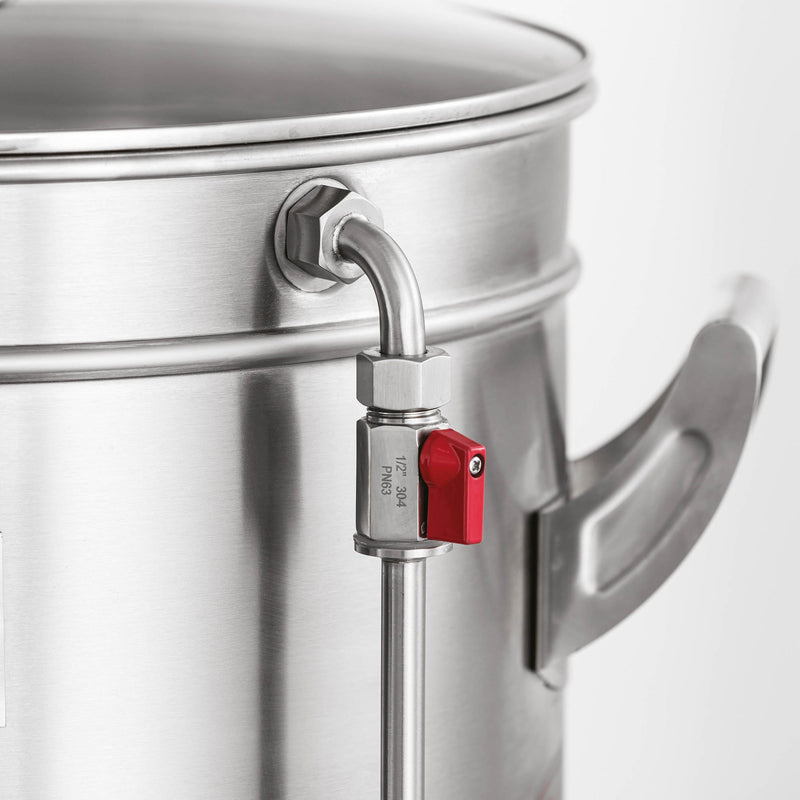 Grainfather G70's half barrel system