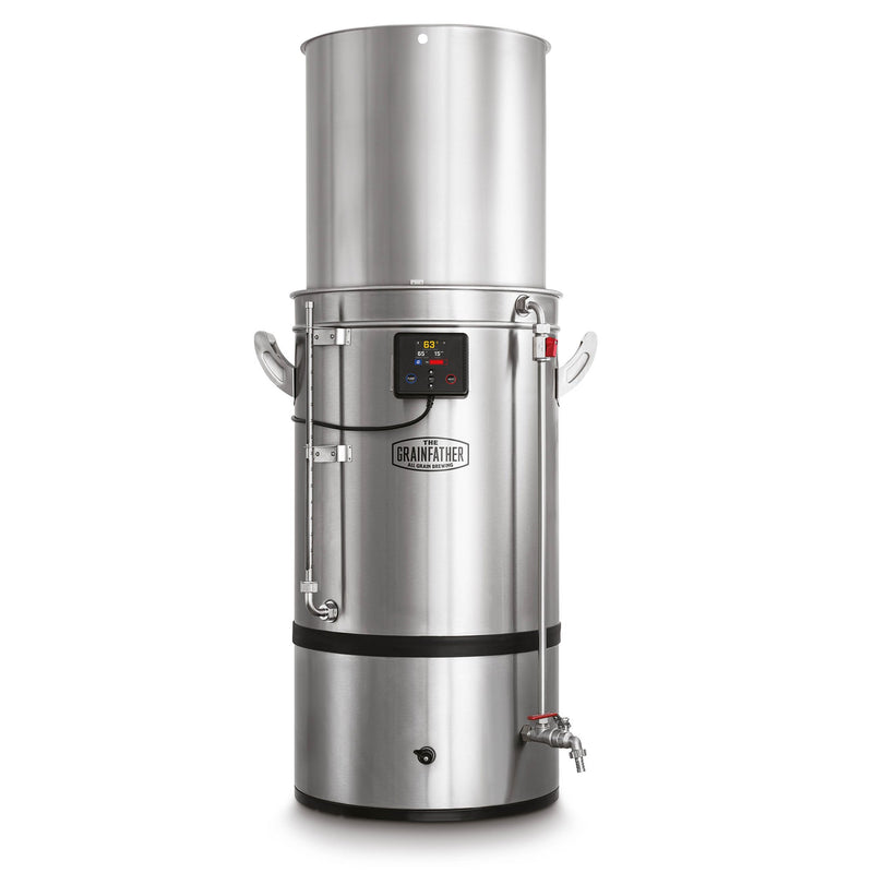 The grainfather g70 all grain brewing system all in one fully extended