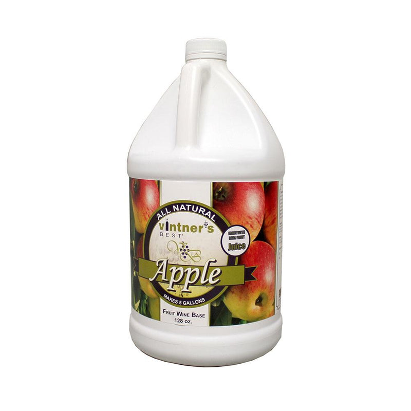 Vintner's Best Apple Fruit Wine Base 128 oz.