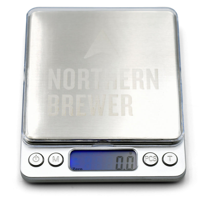 Northern Brewer Brewing Scale with tray in place