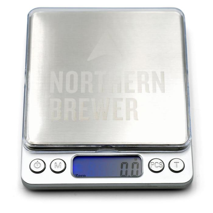 Northern Brewer Brewing scale on and at zero