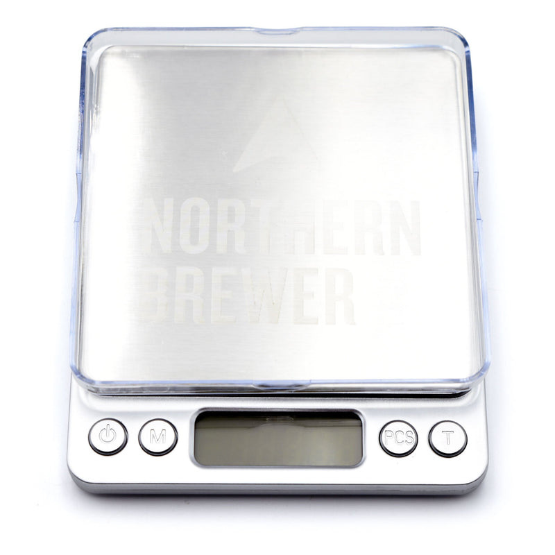 Northern Brewer Brewing Scale with Tray right side up