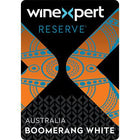 Label for the Australian Boomerang White Blend limited Release Wine Kit