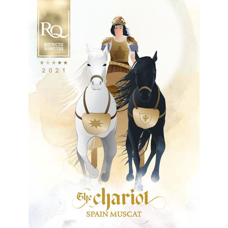 RJS RQ21 The Chariot - Spanish Muscat label