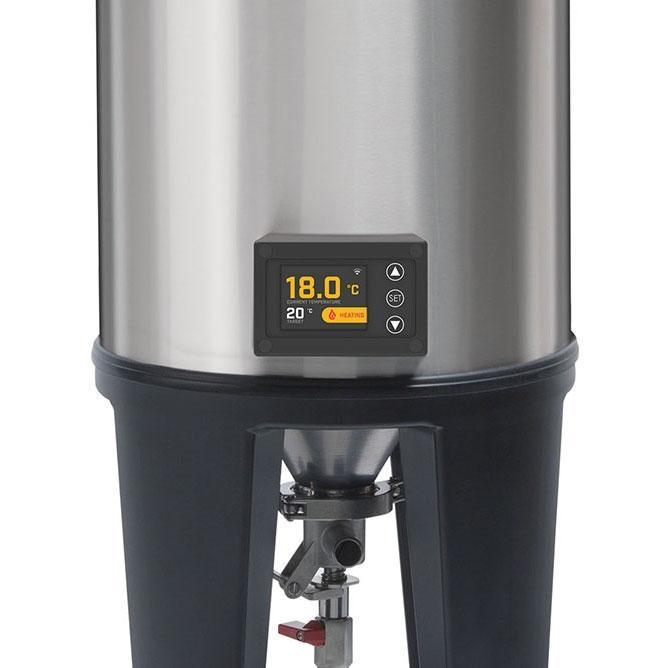 Grainfather Conical Fermenter - Pro Series Close up of screen