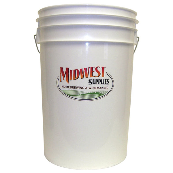 6.5 Gallon plastic fermenter with lid