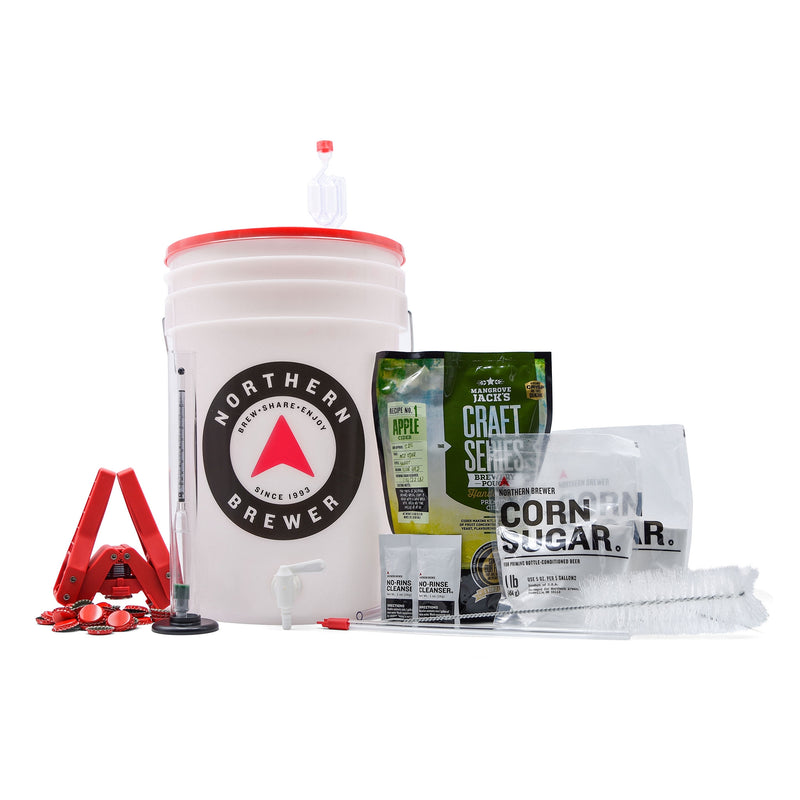 Hard Cider Kit - Essential Equipment Kit with Recipe Kit