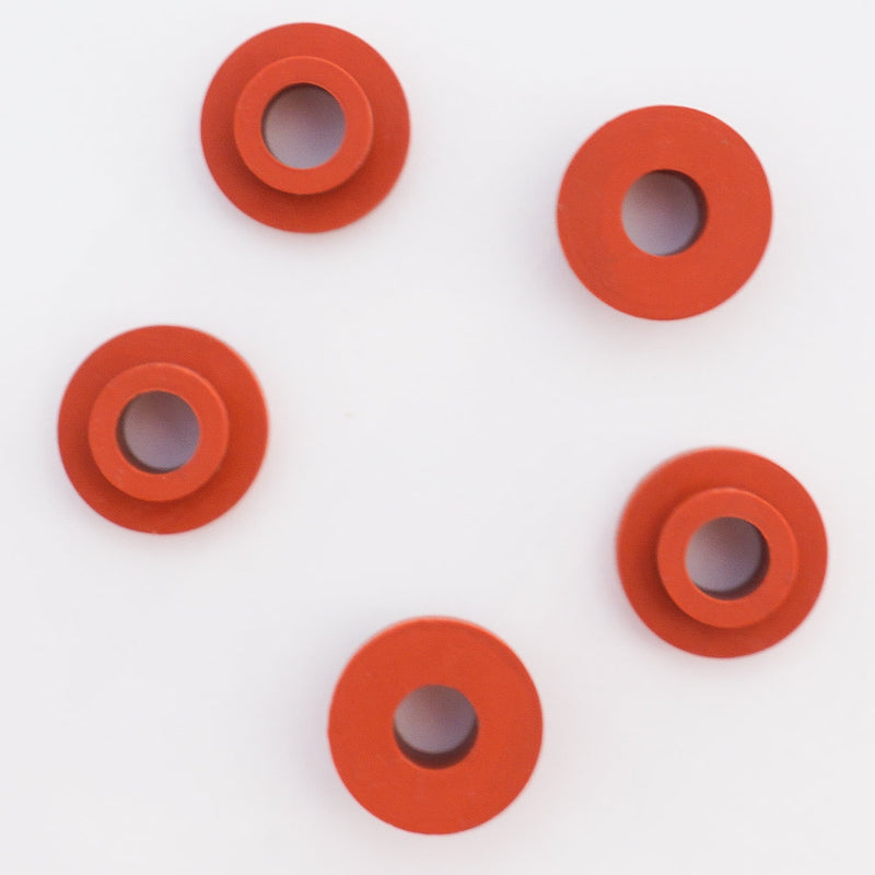 Red Replacement Rubber Grommet (5 Pack)