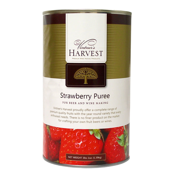 Vintner's Harvest Strawberry Puree in a can