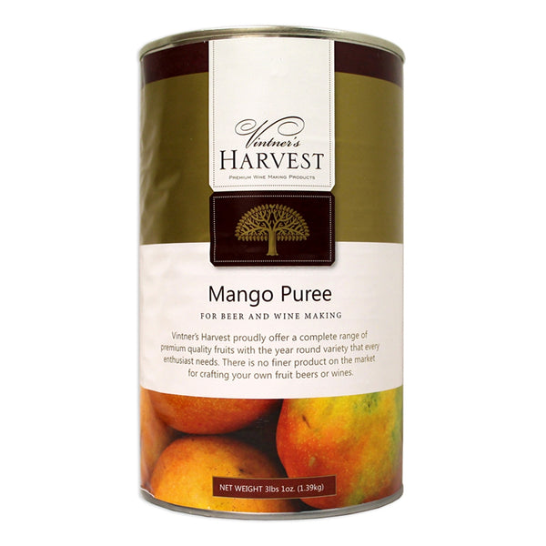 Vintner's Harvest Mango Puree in a 3-pound can