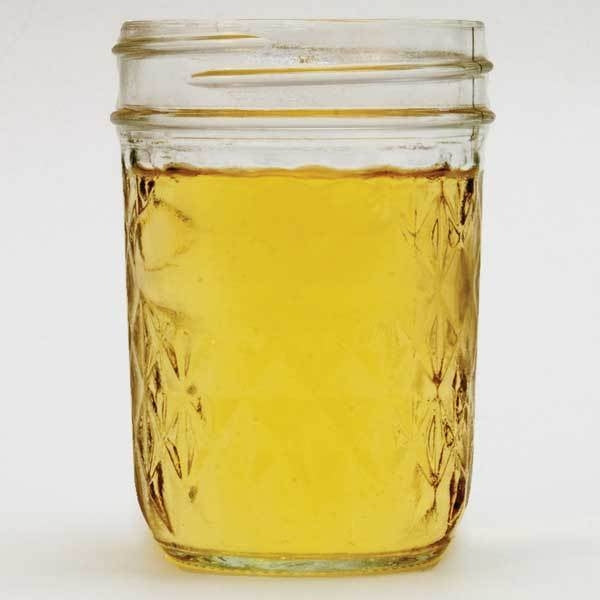 Jar of NB Artisanal standard semi-sweet mead