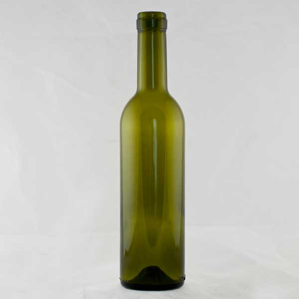375 ml Green Semi-Bordeaux Wine Bottles, 12 per case
