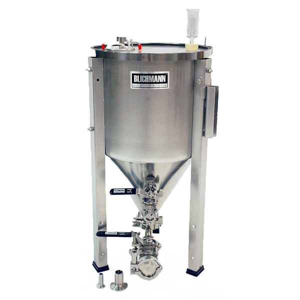 7 Gallon Fermenator with Tri-Clamp Sanitary Fittings