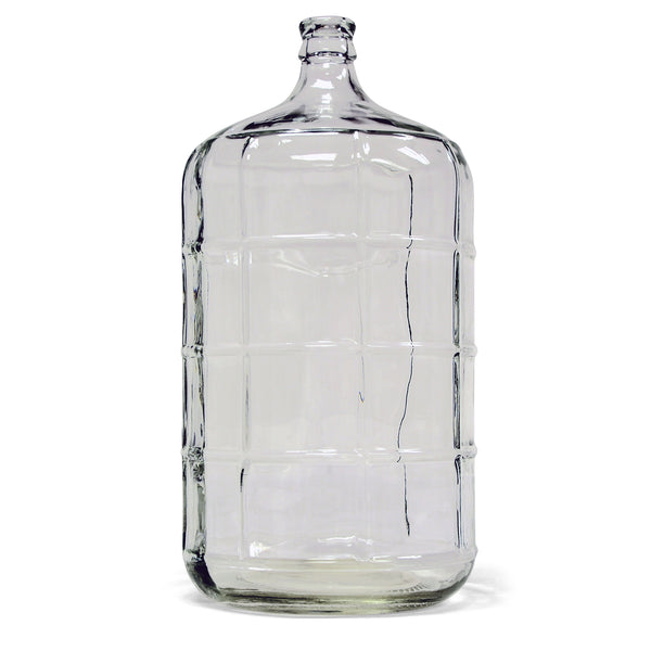 6 gallon glass carboy for wine making beer brewing midwest supplies