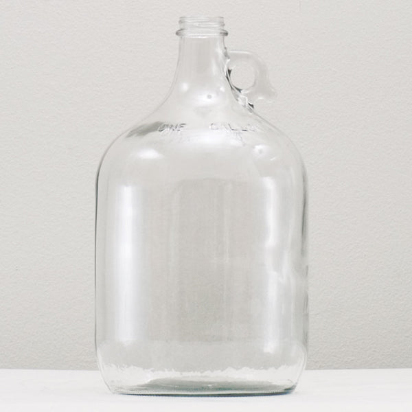 1-Gallon Glass jug