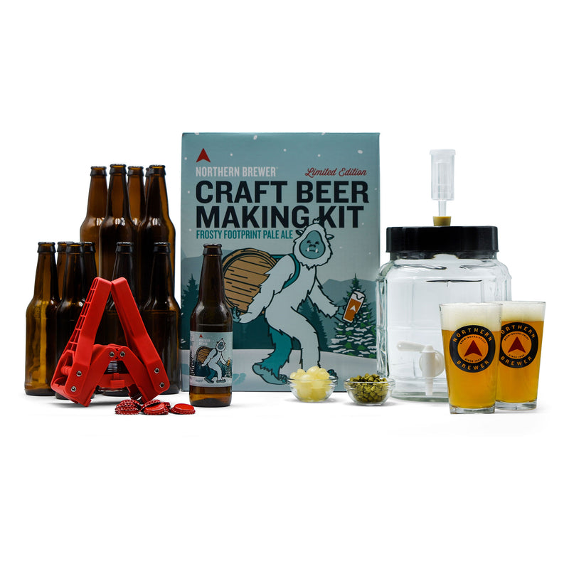 All In One Holiday Craft Beer Making Kit