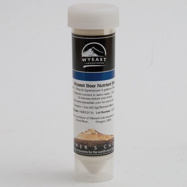 1.5-ounce container of Wyeast Yeast Nutrient