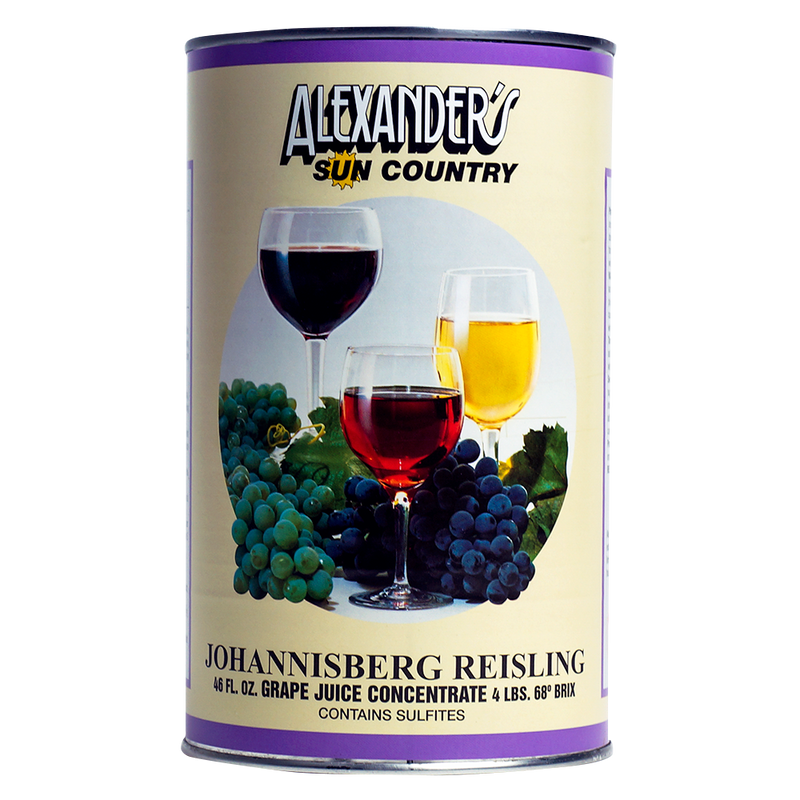 Johannisberg Riesling Alexander's Concentrates