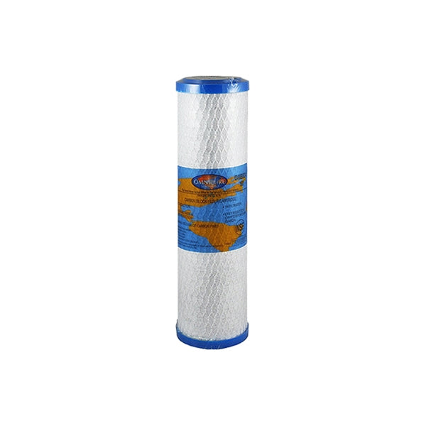 Blue ten inch water filter
