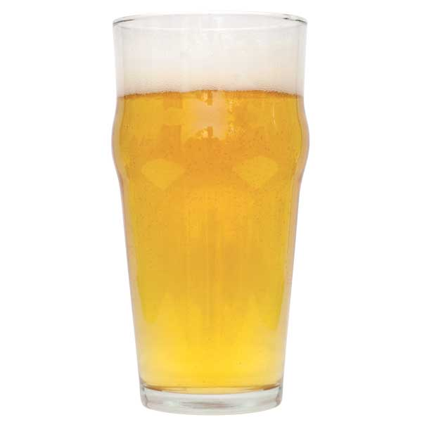 Irish Blonde in a drinking glass