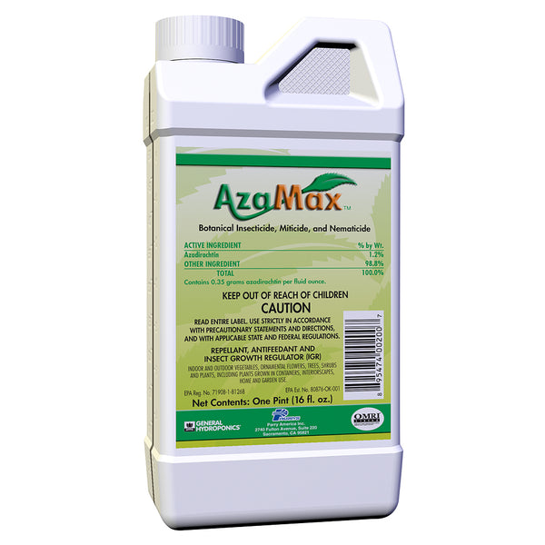 16-ounce container of GH AzaMax organic insecticide