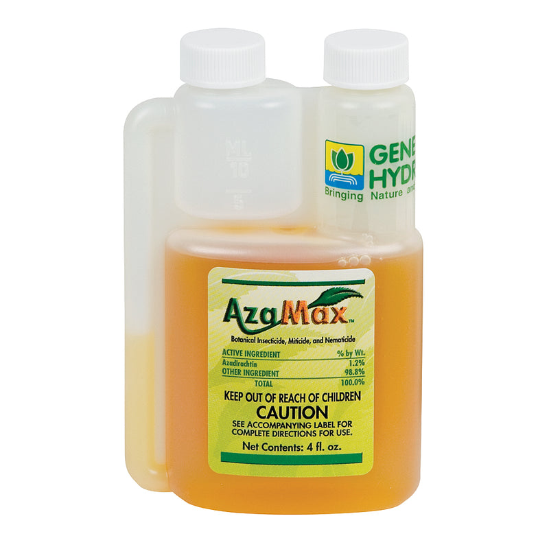 4-ounce container of GH AzaMax organic insecticide