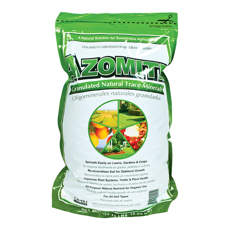 Azomite Granulated Natural Trace Minerals, 10 lb
