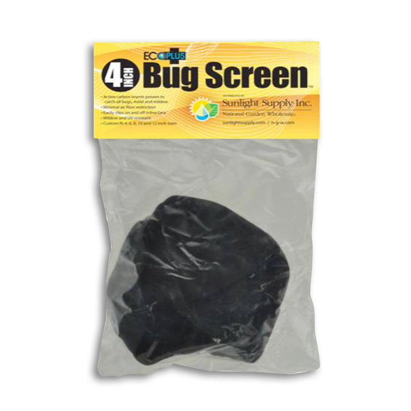 Black Ops Bug Screen w/ Active Carbon Insert 4 in
