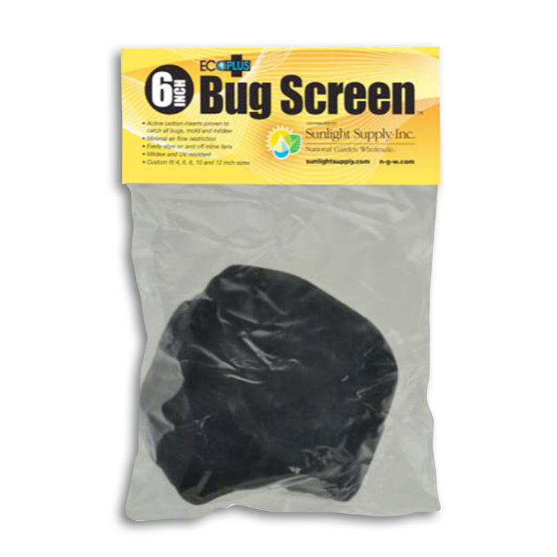 Black Ops Bug Screen w/ Active Carbon Insert 6 in