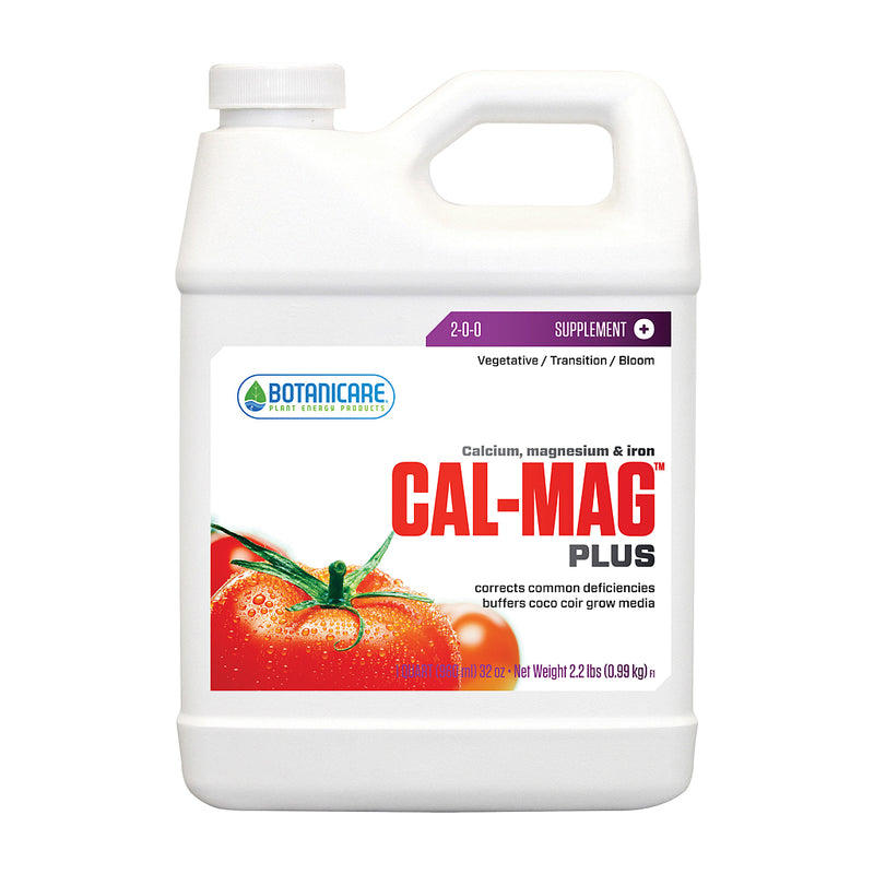 1-quart jug of Botanicare Cal-Mag Plus