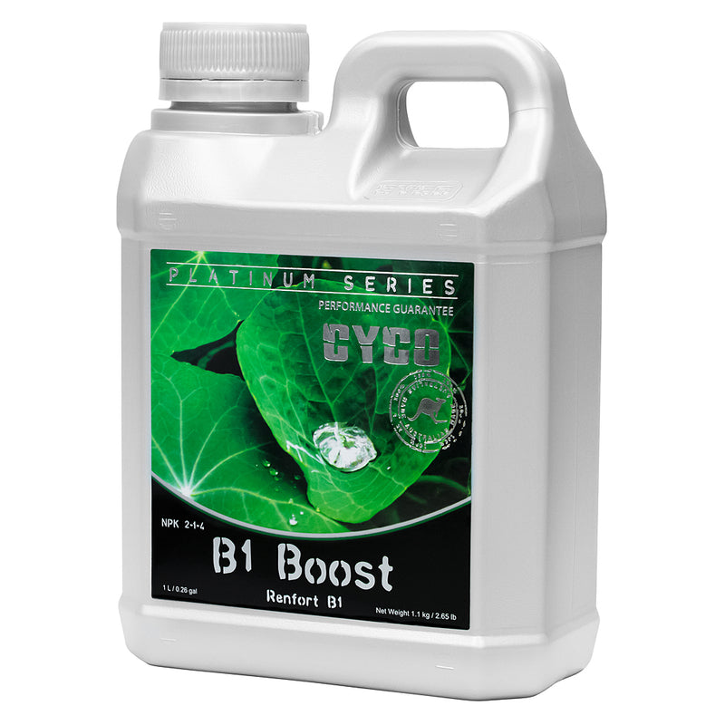 1-liter container of CYCO B1 boost